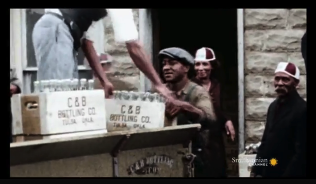 VERY RARE Footage of Black Wall Street, Before The 1921 Tulsa Race Riot