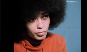 A reporter asked famed activist Angela Davis in 1971 if violence was needed for a revolution. Her answer blew him away…