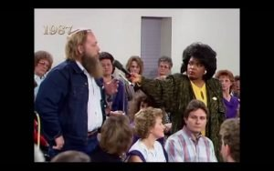 That time Oprah went to Forsyth County, a place where no Black person had stepped foot in 75 years…