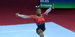 Nobody (and we mean nobody) has more female gymnast medals than Simone Biles…