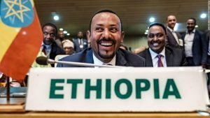 An Ethiopian man has won the Nobel Peace Prize…