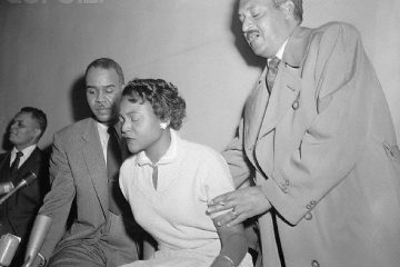 Autherine Lucy W/Thurgood Marshall