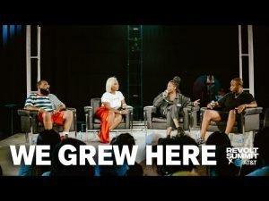 """We Grew Here"" ft Tunde Balogun, Amber Grimes, Ebonie Ward, & Meezie – A REVOLT Summit…"