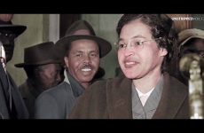 Rosa Parks boycott in color