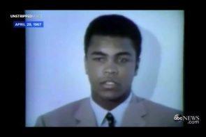 Muhammad Ali refuses draft 1967