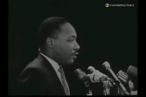 MLK pick yourself from your own bootstraps