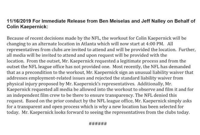 kaep letter update