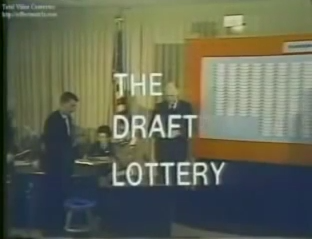 207 Draft Lottery Vietnam 1967