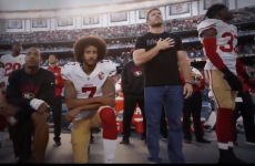 Kaepernick Nate Boyer take a knee